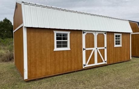 Albany GA Portable Lofted Barn Sheds