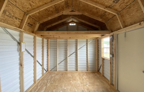 Portable Lofted Barn Sheds in Tifton